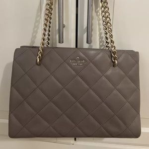 Kate Spade small phoebe Emerson place taupe bag